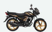 TVS Star City Plus Black Gold