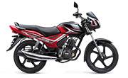 TVS Star City Plus Black Red
