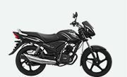 TVS Star City Plus Black Silver