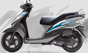 TVS Wego Mercury Grey