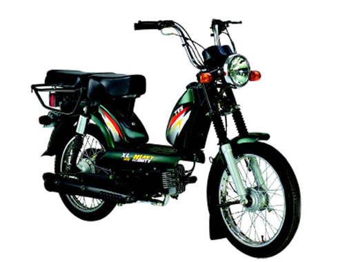TVS  XL HD 2 Stroke Appearance
