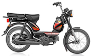 TVS  XL HD 2 Stroke Black