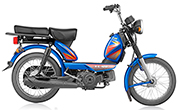 TVS  XL HD 2 Stroke Blue