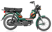TVS  XL HD 2 Stroke Green