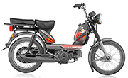 TVS  XL HD 2 Stroke Grey