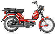 TVS  XL HD 2 Stroke Red