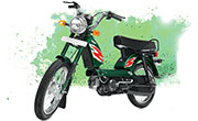 TVS  XL Super Green