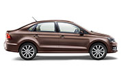 Volkswagen Vento Toffee Brown