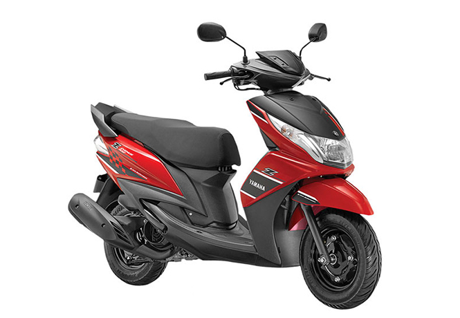 yamaha ray z latest price full specs colors mileage. Black Bedroom Furniture Sets. Home Design Ideas