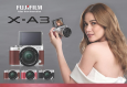 Fujifilm Launches X-A3 Camera With Tilting Screen for Selfies At USD 599