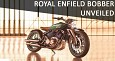 Royal Enfield Bobber 838cc Unveiled at the Bangkok Motor Show 2019