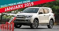 Isuzu To Hike The Prices From January 2019
