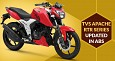 TVS Motors updated Sub 200cc Apache RTR Series with ABS