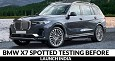 BMW X7 Spotted Testing Before Launch in India