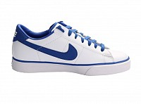 Nike Sweet Classic Leather White Blue pictures