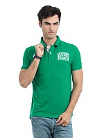 Locomotive men green t-shirt001 pictures