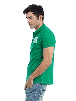 Locomotive men green t-shirt001 Photo pictures