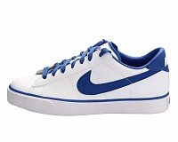 Nike Sweet Classic Leather White Blue Picture pictures