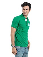 Locomotive men green t-shirt001 Image pictures