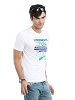 Locomotive men white t-shirt003 Image pictures