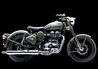 Royal Enfield Classic Battle Green pictures