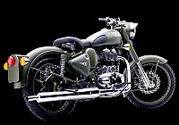 Royal Enfield Classic Battle Green Picture pictures