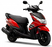 Yamaha Ray 125 Regal Red pictures