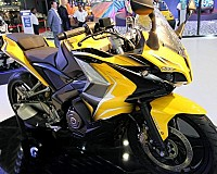 Bajaj Pulsar 400SS Yellow pictures