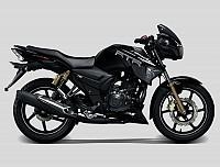 TVS RTR 180 Black pictures