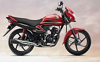 Honda Dream Yuga Self Start Alloy Sports red pictures