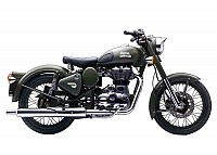 Royal Enfield Classic Battle Green Photo pictures