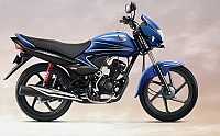 Honda Dream Yuga Self Start Alloy Vibrant Blue pictures
