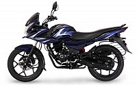 Bajaj Discover F150 Dark Blue pictures