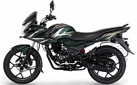 Bajaj Discover F150 Dark Bottle Green pictures