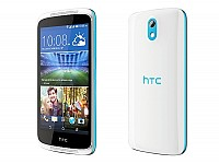 HTC Desire 526G Plus Glacier Blue Front,Back And Side pictures