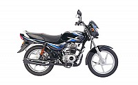Bajaj CT 100 Ebony Black with Blue Decal pictures