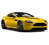 Aston Martin Vantage V12 6.0L Car Sunburst Yellow pictures