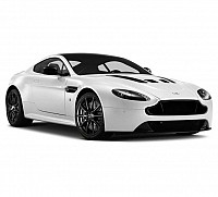 Car Aston Martin Vantage V12 6.0L Morning Frost White pictures