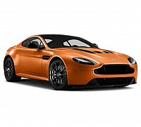 Car Aston Martin Vantage V12 6.0L India Madagascar Orange pictures