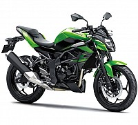 Kawasaki Z250SL Candy Lime Green pictures