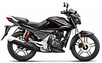 Hero Xtreme Sports Self Start Double Disc Brake Panther Black pictures