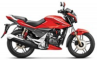 Hero Xtreme Sports Self Start Double Disc Brake Fiery Red pictures