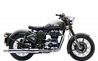 Royal Enfield Classic Battle Green Image pictures