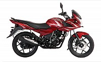 Bajaj Discover F150 Wine Red pictures
