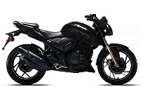 tvs apache rtr 200 Black pictures