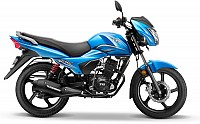 TVS Victor Drum Brake Blissful Blue pictures
