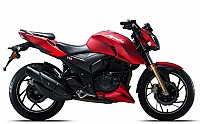 tvs apache rtr 200 Matte Red pictures
