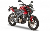 Bajaj Pulsar 150NS Red Black Photo pictures
