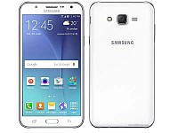 Samsung Galaxy J7 (2016) White Front and Back pictures