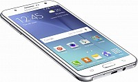 Samsung Galaxy J7 (2016) White Front and Side pictures